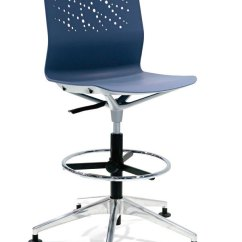 Office Chairs Without Wheels And Arms Neutral Posture Xsm Chair Urban Block, A For Public Spaces With Multiple Configurations