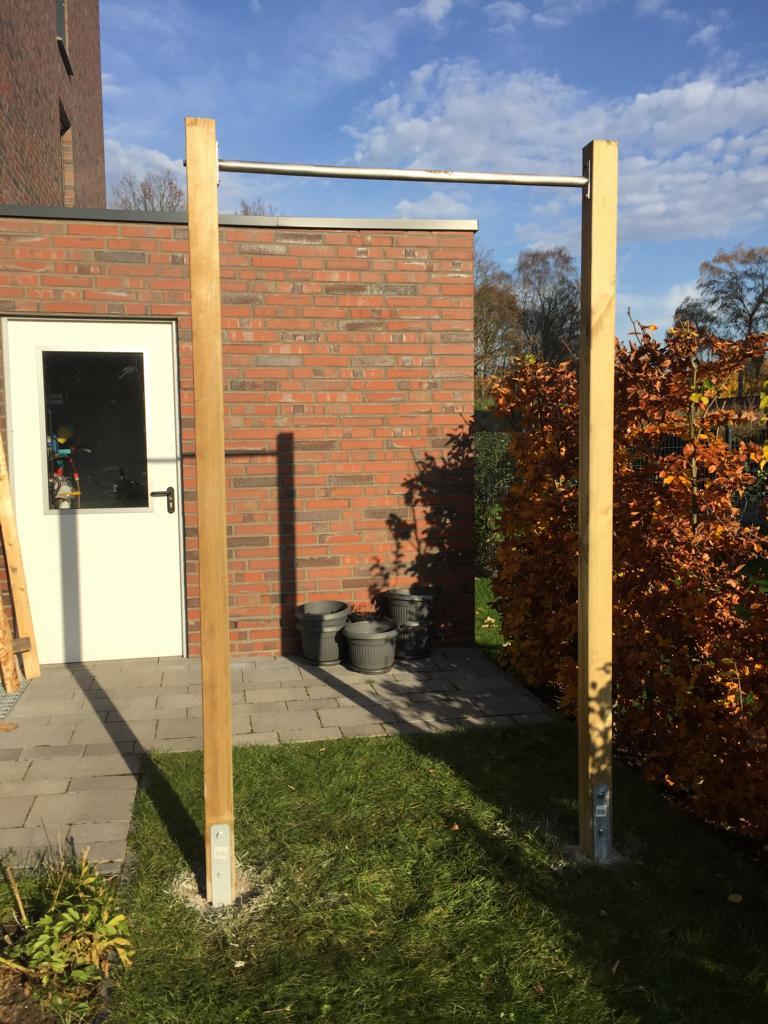 Extrem Klimmzugstange für den Garten (DIY) - Activate-the-Beast UA52
