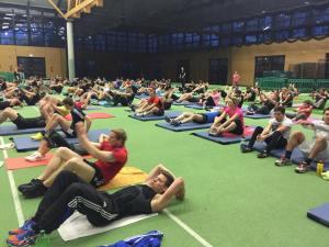 Freeletics Paderletics Group Workout Situps