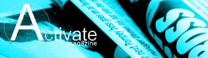 Activate Magazine Banner