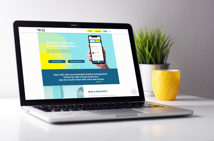 Website ontwerp voor RevenYOU door reclamebureau Activates uit Sassenheim
