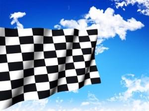 winner's flag