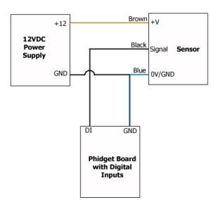 Lanbao Capacitive Proximity Sensor 8mm