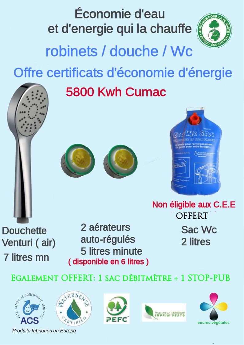 kits hydros economes gratuits eligible