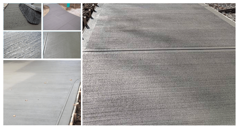 Broom Finish Concrete - Active Concrete Ltd  | Vancouver BC