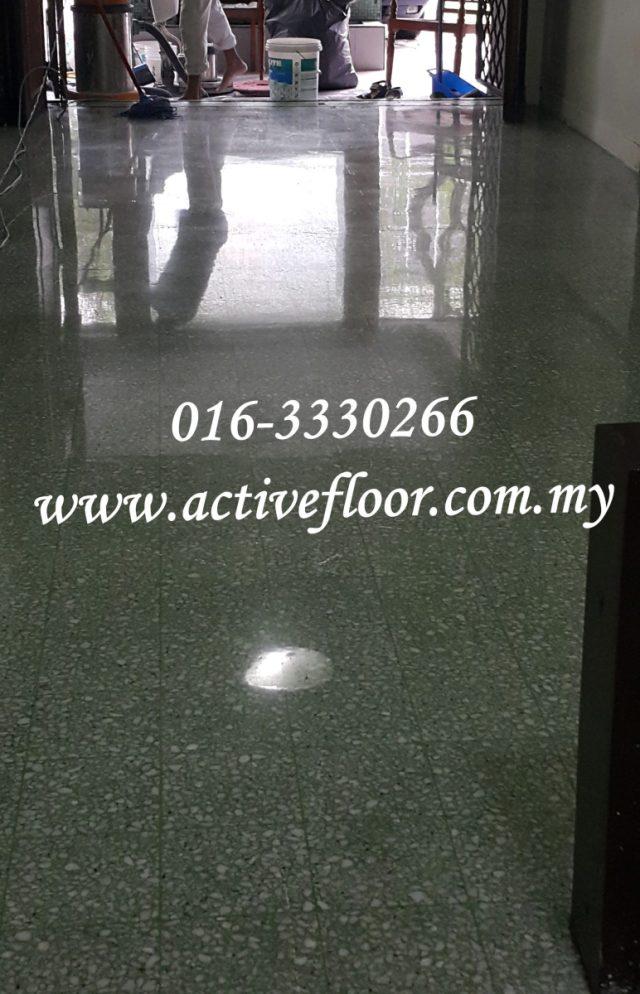 Polish Terrazzo Floor Malaysia Professional Floor