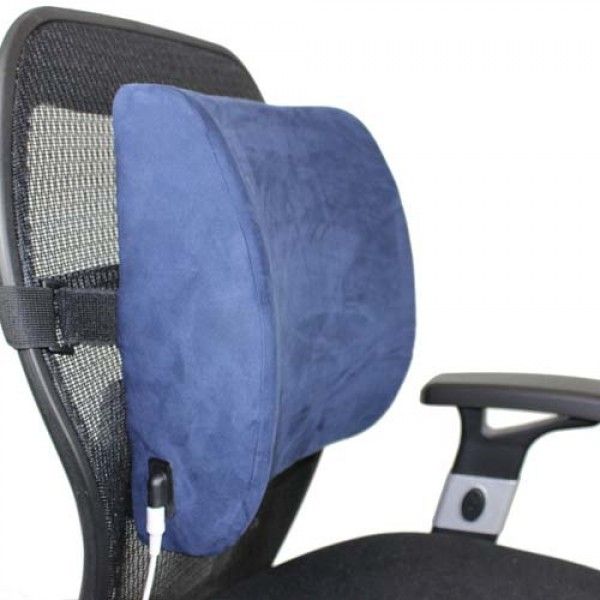 Venture Heat Heated Lumbar Back Support Pillow