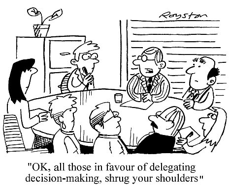 Image result for cartoon decision making process