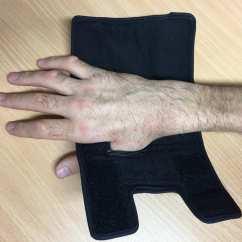 Wheelchair Grips Desk Chair Modern Push Gloves Quad Cuffs The Active Hands Company