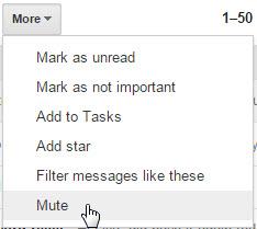 mute conversations