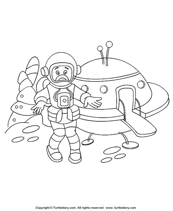 Bedroom Coloring Page