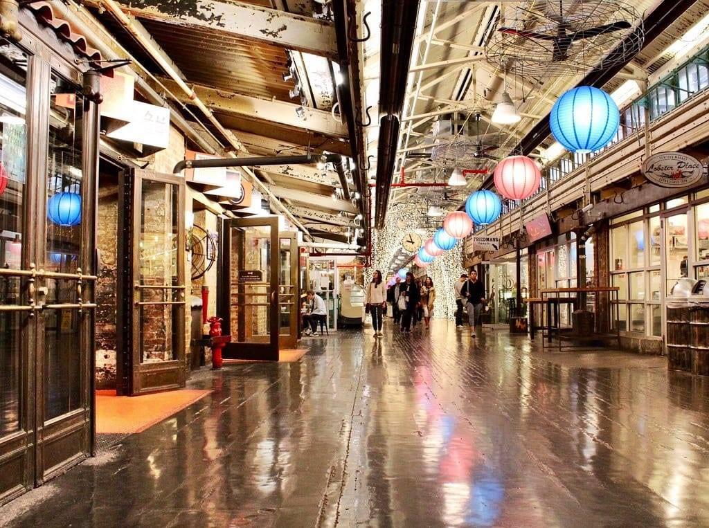 Chelsea Market Hallway View, NYC