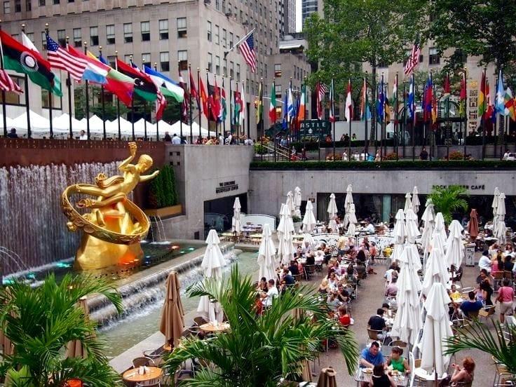 Rockefeller Center pic #2, NYC
