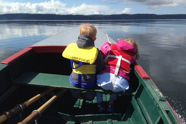 Northwest family boat day