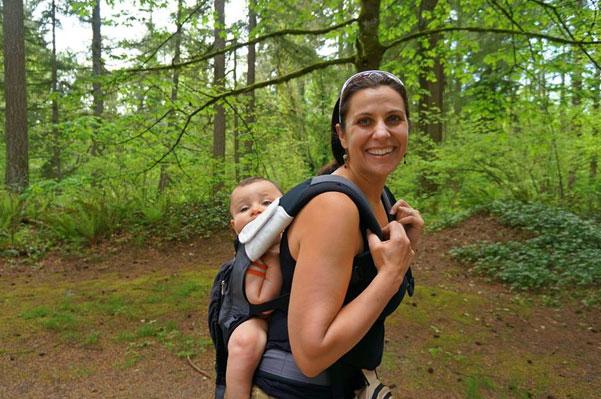 Hike it Baby founder Shanti Hodges