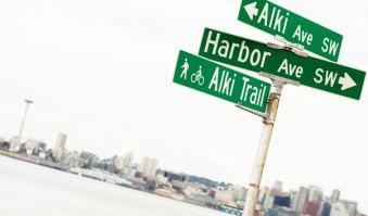 West Seattle's Alki Beach
