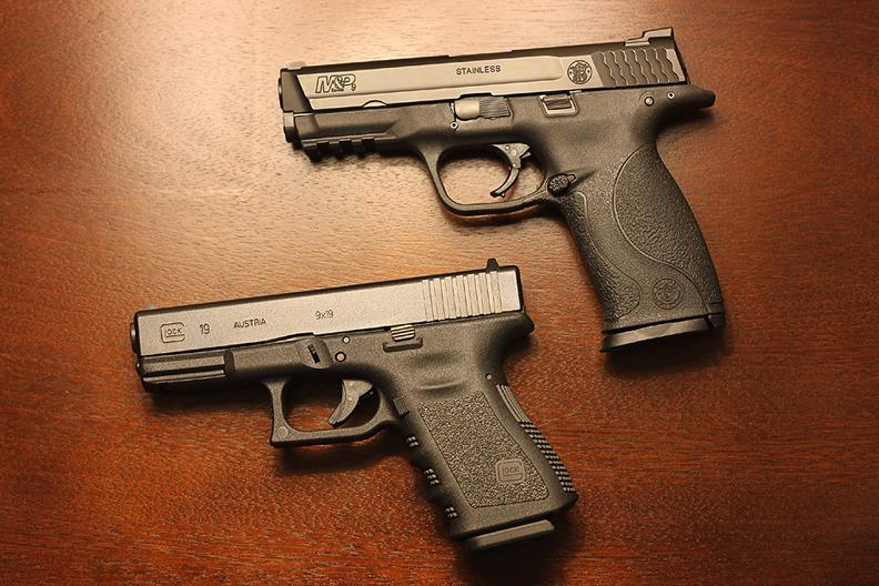 M And P Shield Vs Glock 26 The Firearms Manifesto...