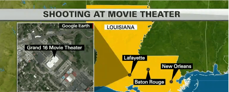 Surviving A Movie Theater Shooting Active Response Training - Map of movie theaters us