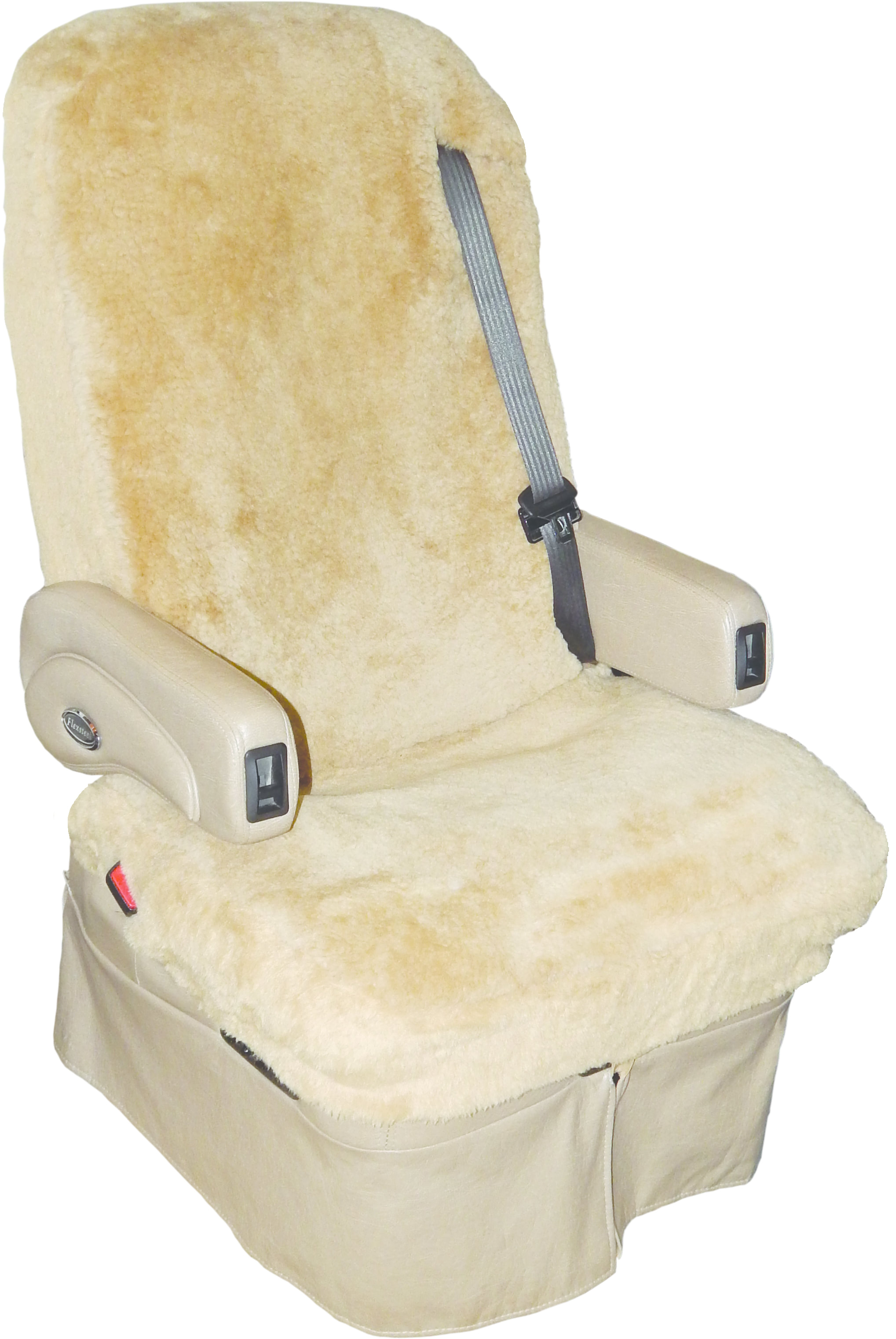 Tailor Made Sheepskin Seat Covers for RVs  Motorhomes