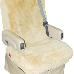 Rv Captain Chair Seat Covers Hydraulic Styling Tailor Made Sheepskin For Rvs Motorhomes