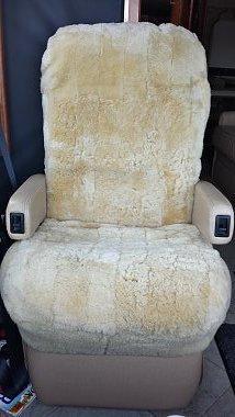 Sheepskin Seat Covers RV Bus Custom TailorMade