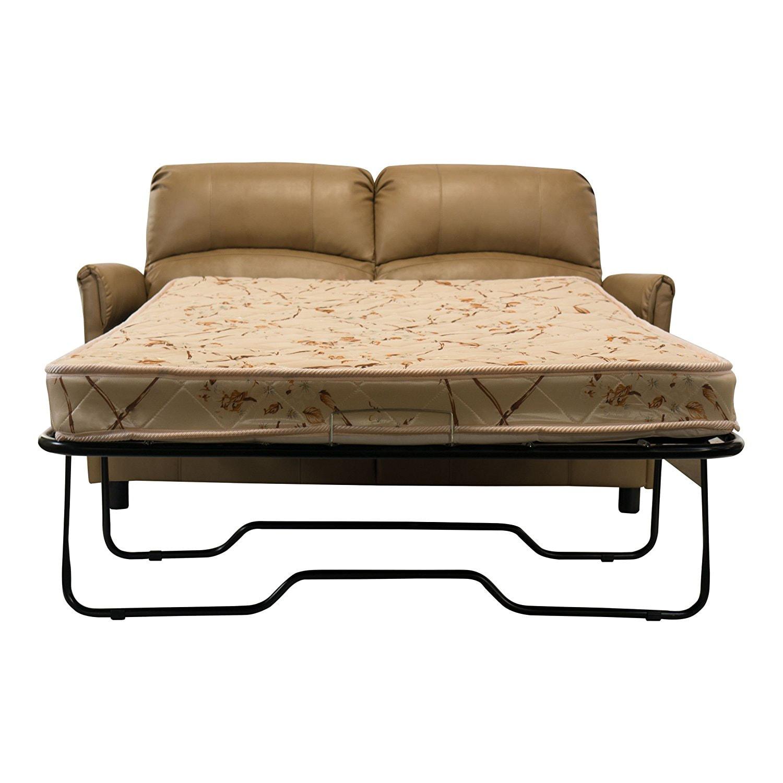 rv reclining sofa sleeper dimensions of friheten bed 60 quot w hide a loveseat tan
