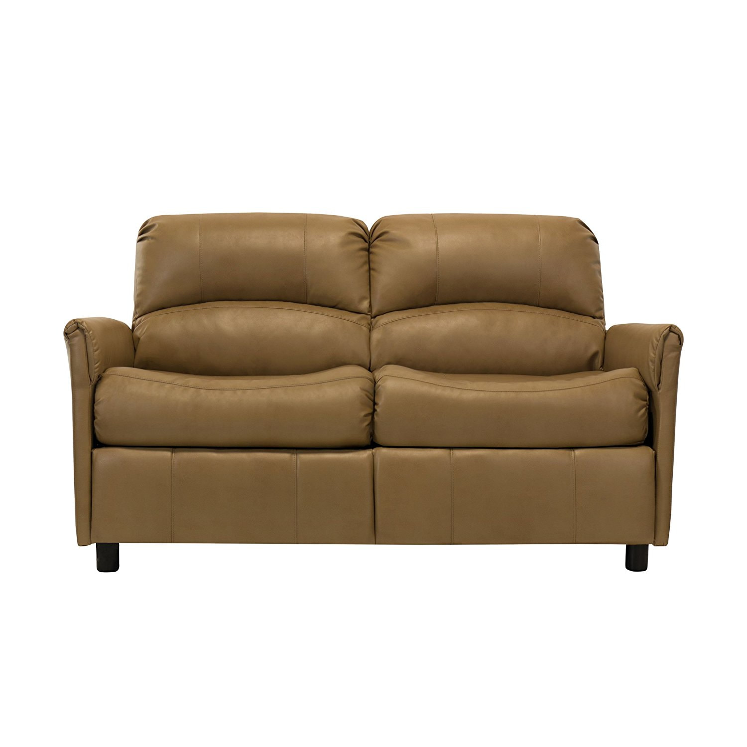 rv reclining sofa sleeper sectional sofas denver co 60 quot w hide a bed loveseat tan