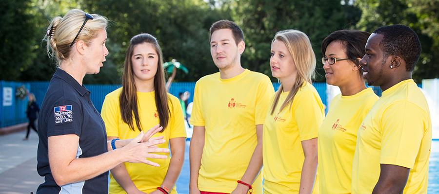 RLSS UK National Pool Lifeguard Trainer Assessor