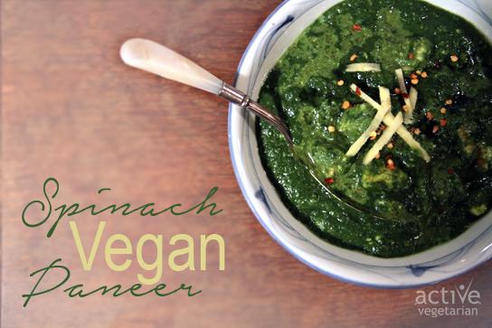 Spinach Vegan Paneer