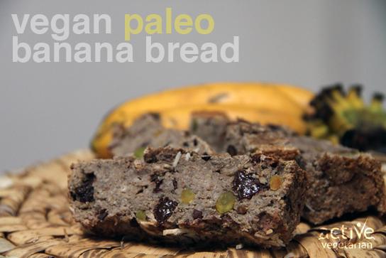 Vegan Paleo Banana Bread