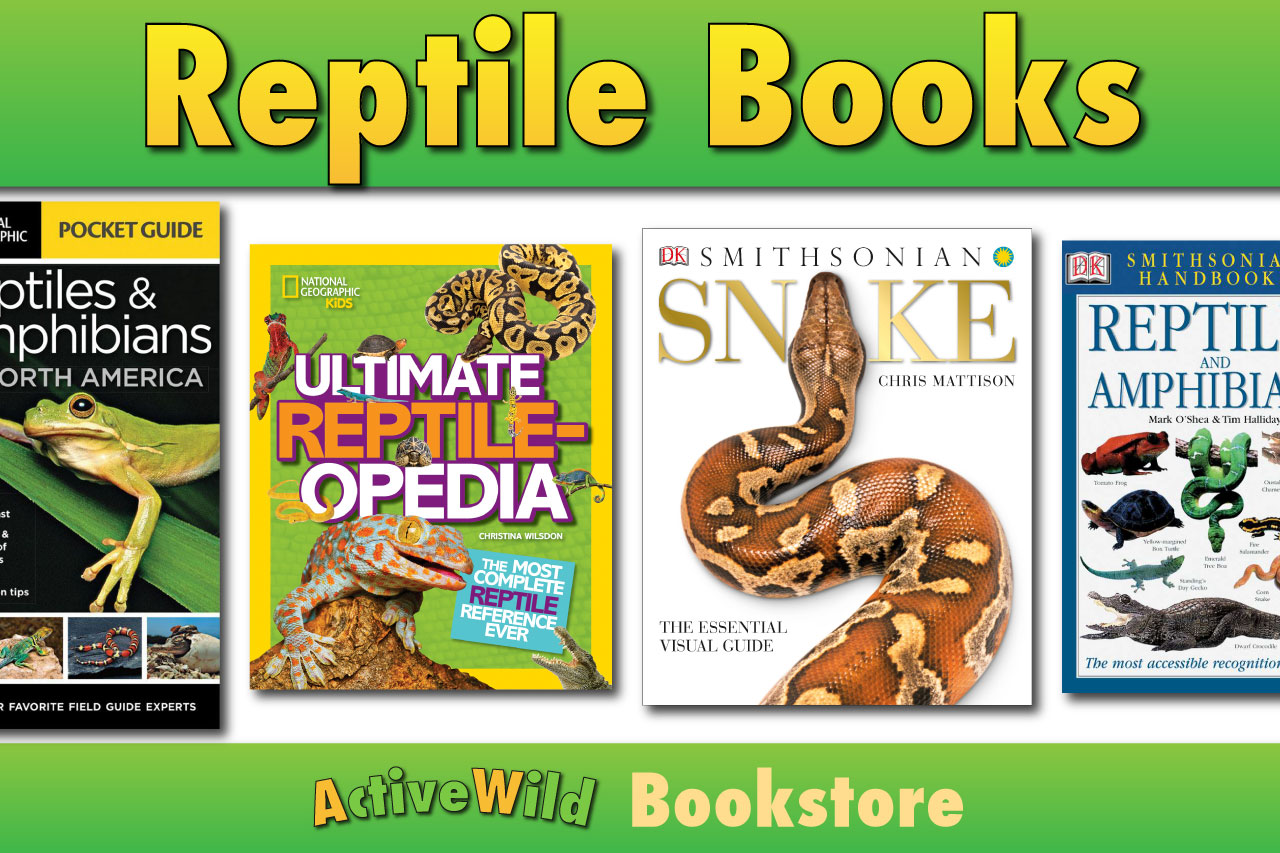 Reptile Books For Kids Amp Adults Books On Snakes Lizards Amp Crocodiles