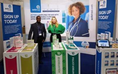 The ActivHeal® team attend Wound Care Today