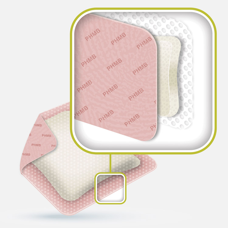 ActivHeal PHMB Foam Product Features
