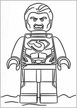 Dibujos para colorear para niños Lego Marvel Heroes L0