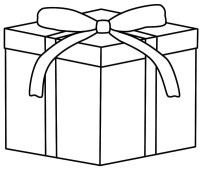 dibujos de regalos para colorear dibujosnet dibujos para ...