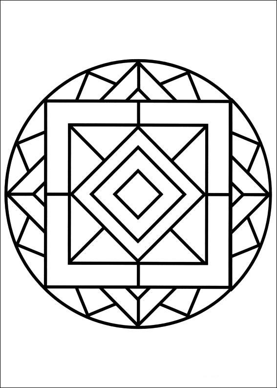 Mandalas Faciles De Dibujar