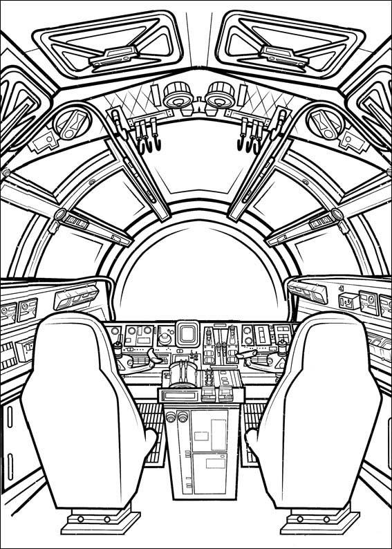 Dibujos para dibujar Star Wars El despertar de la Fuerza 4