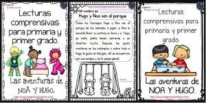 Lecturas comprensivas para Primer ciclo de Primaria. Las aventuras de Noa y Hugo