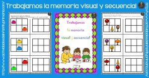 Trabajamos la memoria visual y secuencial