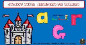 Jugamos con el abecedario del castillo