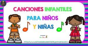 Canciones infantiles para niños y niñas