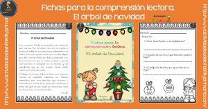 Fichas para la comprensión lectora. El árbol de Navidad