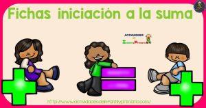 Fichas para la iniciación a la suma en infantil