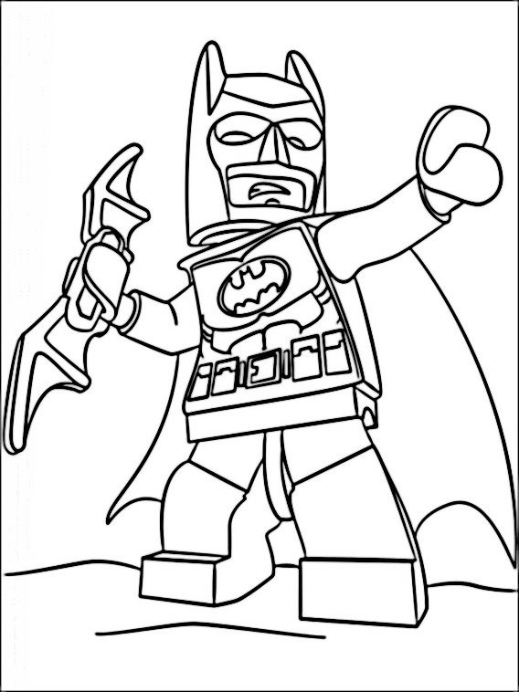 Lego Unikitty Coloring Pages