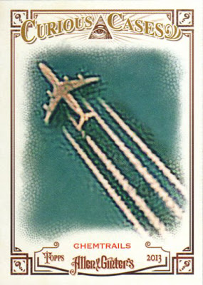 Chemtrails trading card