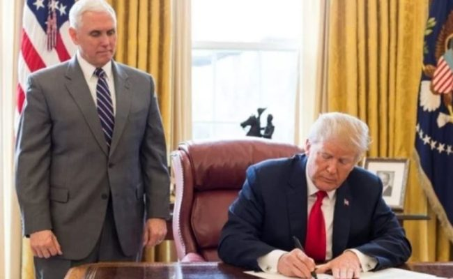 Trump Signs Two Executive Orders Giving Himself Sole
