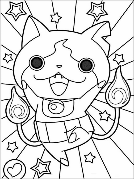 Yo-Kai Watch Dessin de 4