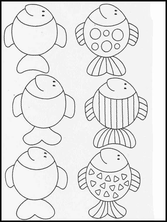 Worksheets Activities For Kids Complete The Drawings 19