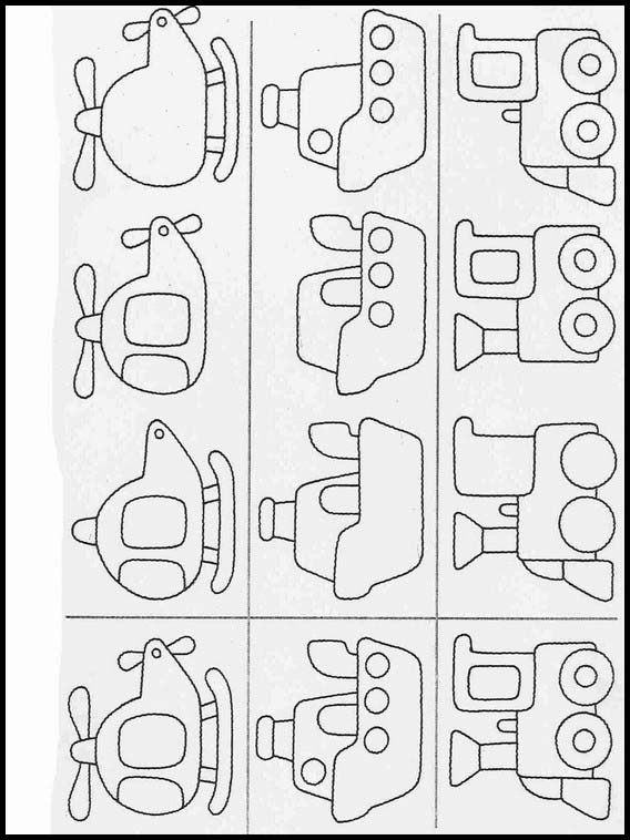Complete The Drawings Worksheets For Children 31