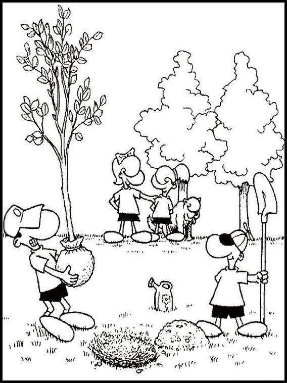 Exercises for children Ecology 8